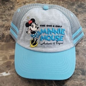 Brand New Minnie Mouse Velcro Back Hat